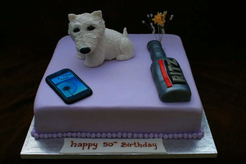 Celebrate your 50th Birthday with dogs.